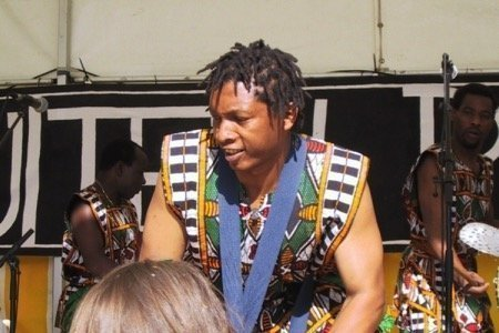 West-Afrikaanse percussieband