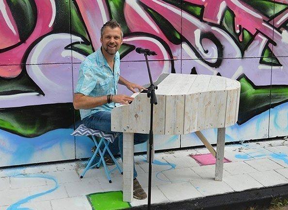 Barrie's piano show | Artiest huren bij Swinging.nl
