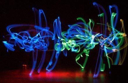 Fluor POI dansshow | Artiest huren bij Swinging.nl