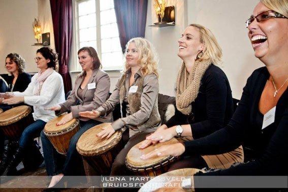 Percussie Workshop | Artiest huren bij Swinging.nl
