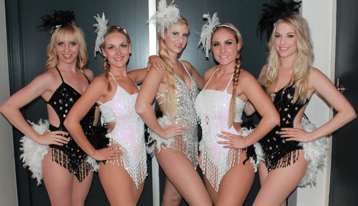 Swinging show dancers service