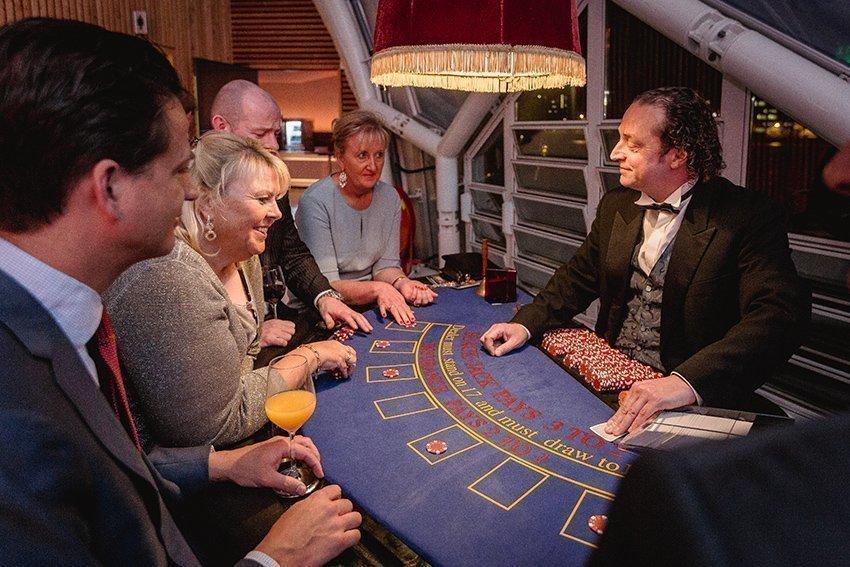 Blackjack tafel – evenementencasino | Artiest huren bij Swinging.nl
