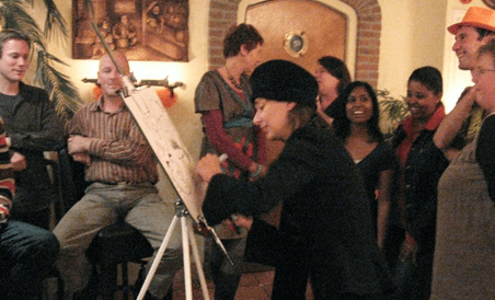 Sneltekenares Jill | Artiest huren bij Swinging.nl