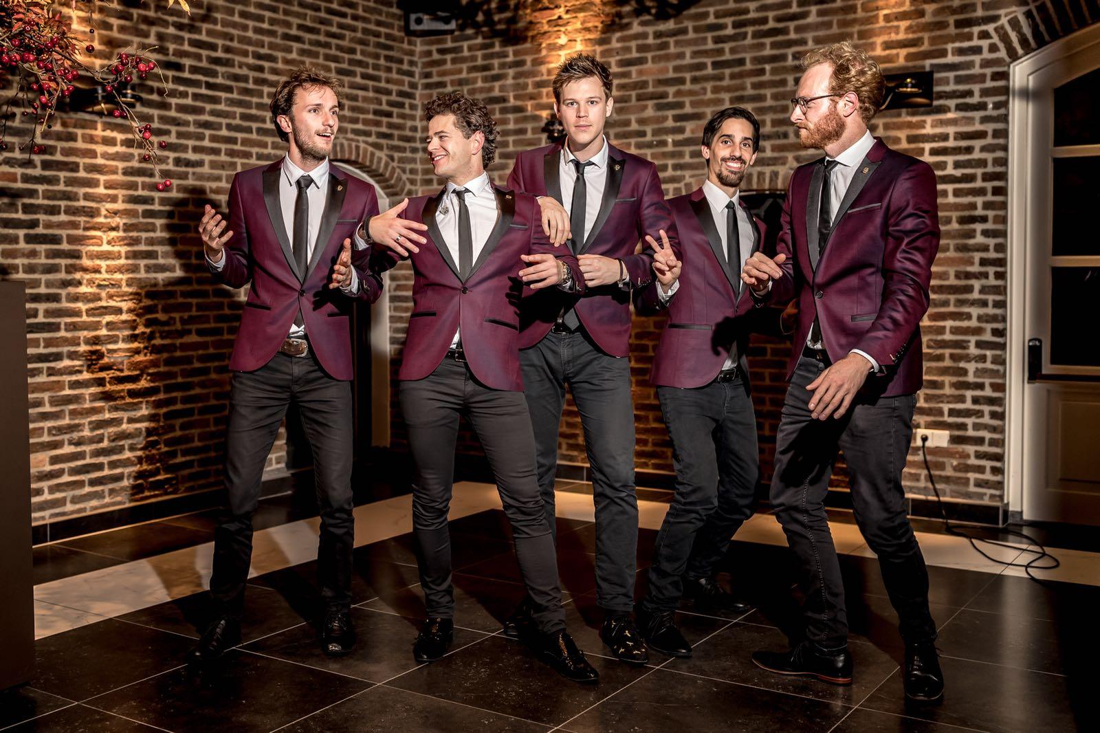 The Gentlemen | Artiest huren bij Swinging.nl