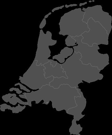 Kaart van Nederland