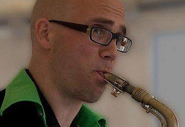 Saxofonist Pieter