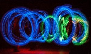 Fluor Poi dansshow