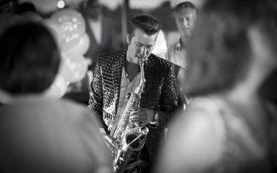 Saxofonist Boris