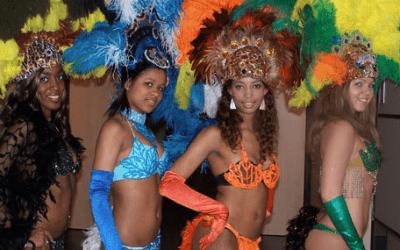 Samba dansshow boeken via swinging.nl