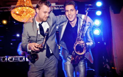 Saxofonist bij DJ boeken via swinging.nl