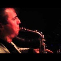 saxofonist Boris live