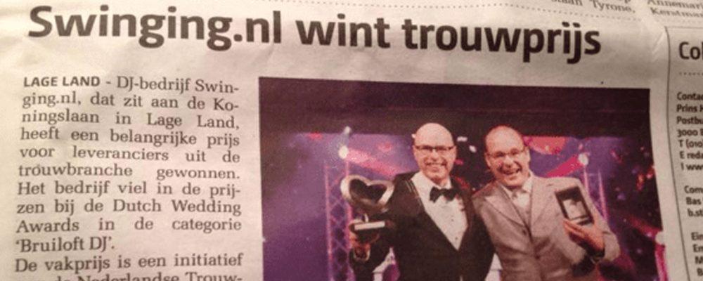 Waarom-heeft-Swinging.nl-de-Dutch-Wedding-Awards-gewonnen | Swinging.nl