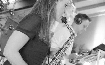 Saxofonist Leonique