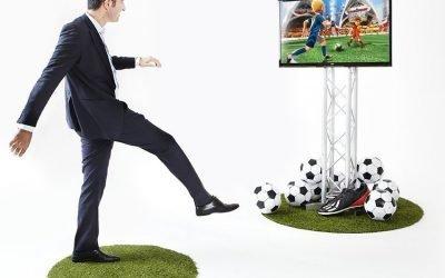 kinect game zone boeken via Swinging.nl