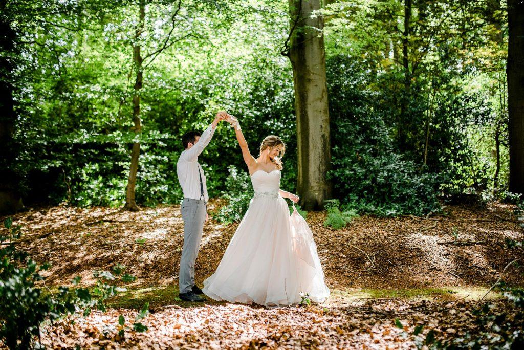 dansen in je trouwjurk
