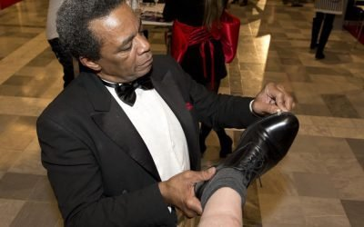 Amerikaanse schoenenpoetser | Swinging.nl