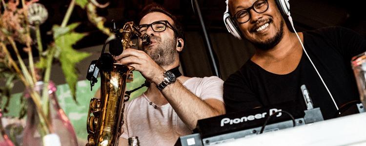 Saxofonist Joshua