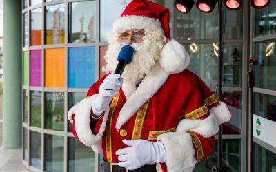 De zingende kerstman
