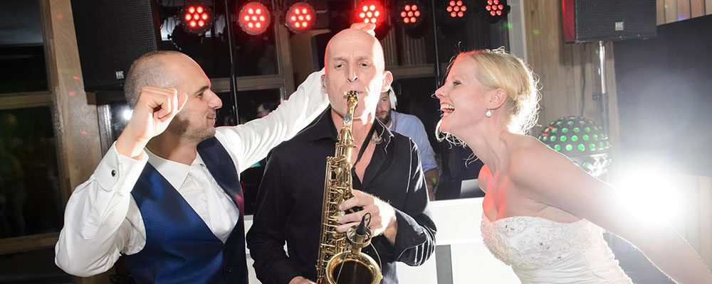 Muziek tijdens de huwelijksdag   Swinging.nl