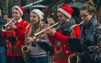 The brass bells